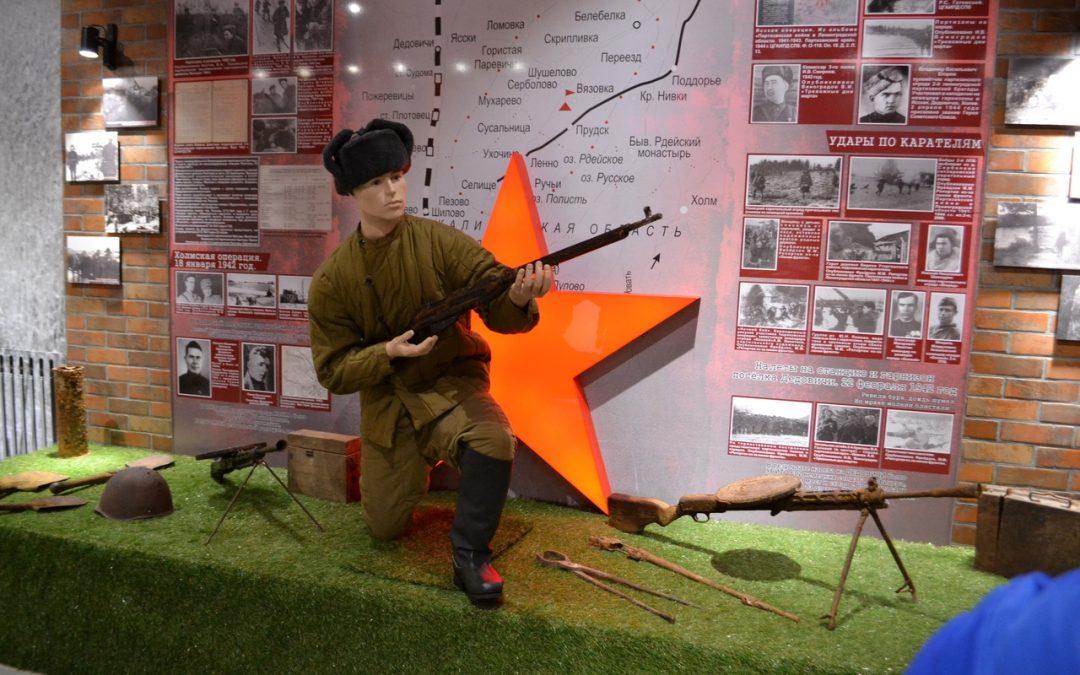Открытие зала истории партизанского движения и музея под открытым небом «Партизанский лагерь» в Белебёлке